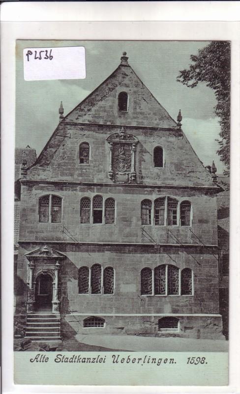 Alte Stadtkanzlei Ueberlingen Überlingen 1598