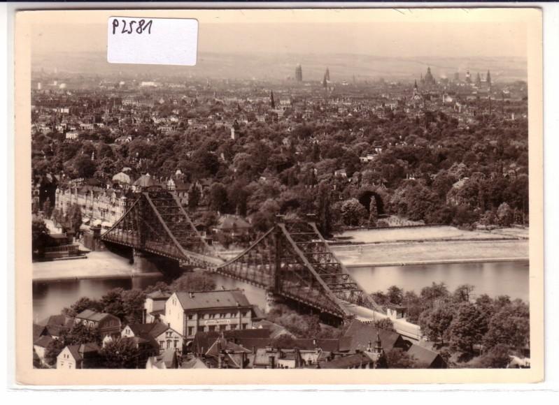 Dresden vor der Zerstörung durch anglo-amerikanische Bomber