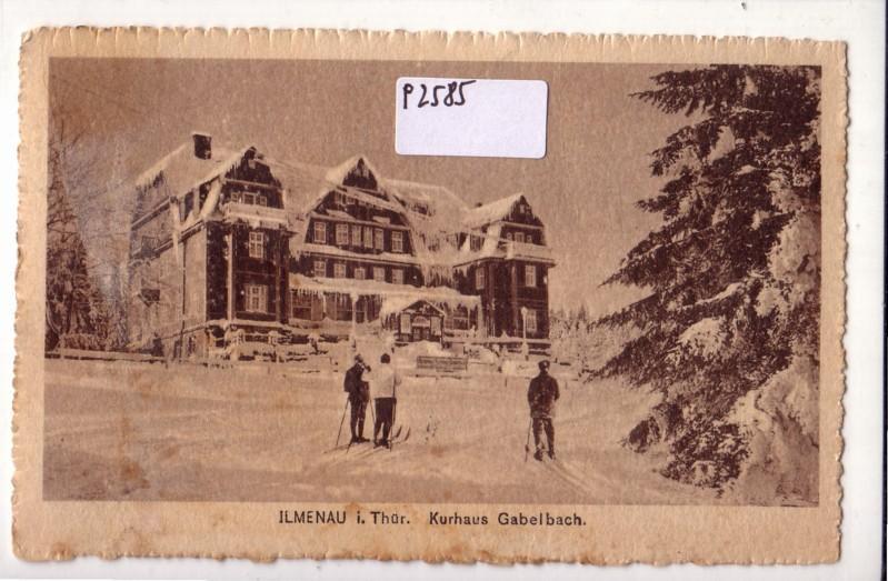 Ilmenau Thüringen Kurhaus Gabelbach Skilanglauf