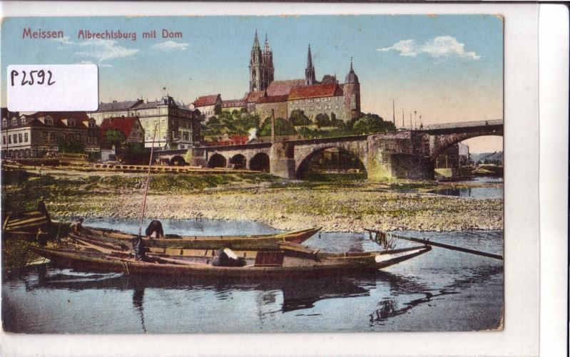 Meissen Albrechtsburg mit Dom