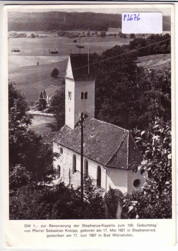 Kneipp Stephanus-Kapelle Bad Wörishofen Renovierung