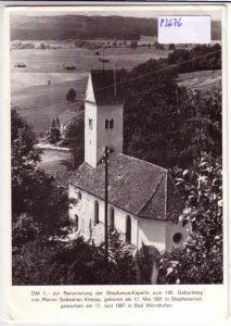 AK Kneipp Stephanus-Kapelle Bad Wörishofen Renovierung ungelaufen