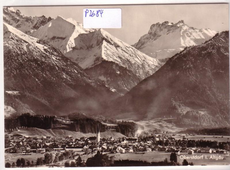 Oberstdorf Allgäu Bergpanorama