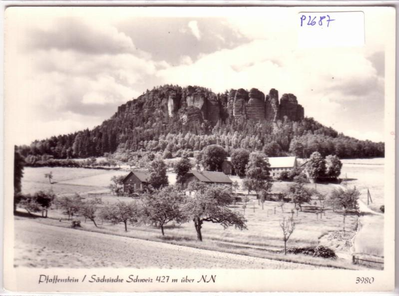 Pfaffenstein Sächsische Schweiz