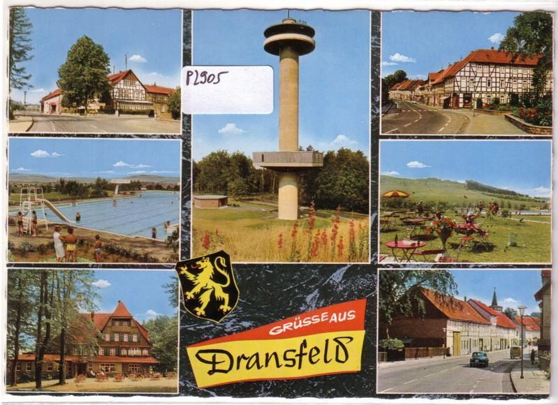 Grüsse Grüße aus Dransfeld Gaußturm 3402