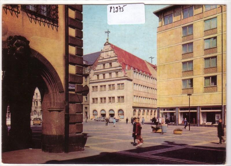 Messestadt Leipzig Naschmarkt Alte Waage