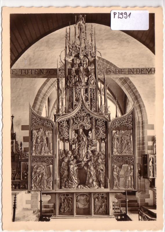 Marienaltar Herrgottskirche Creglingen a. Tauber Tilman Riemenschneider