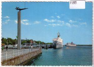 AK Kiel Am Oslo-Kai 1970 gelaufen