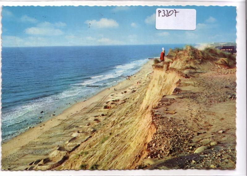Insel Sylt Rotes Kliff Sand Strand