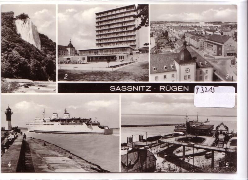 Sassnitz Insel Rügen