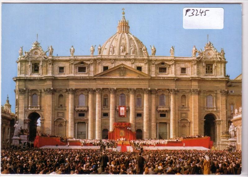 2. Vatikanisches Konzil Vatikan Rom außen