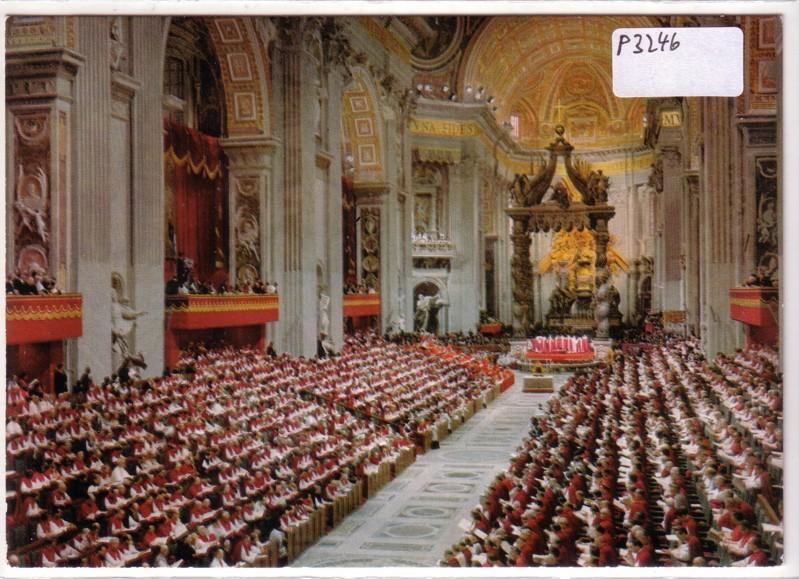 2. Vatikanisches Konzil Vatikan Rom innen