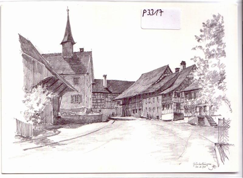 Guntalingen Eschenmoser Unbekanntes vom Zürcher Dorf