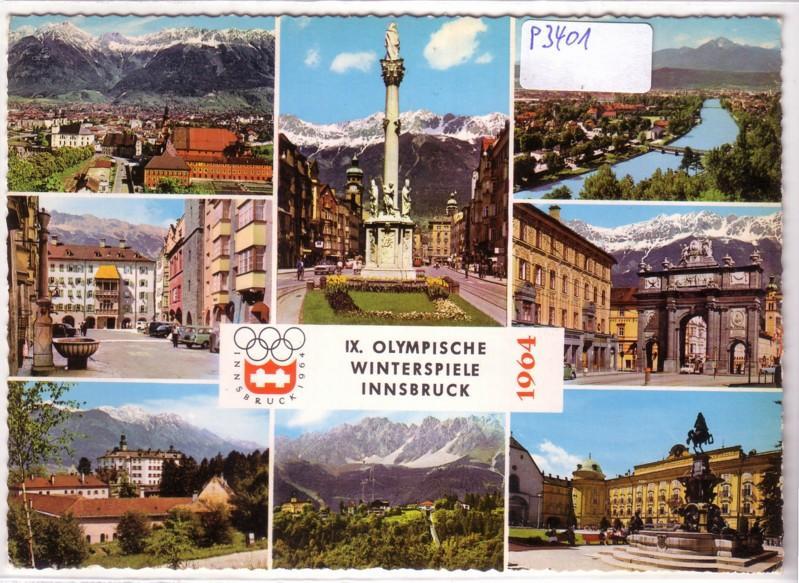 Innsbruck Olympische Winterspiele 1964 Österreich