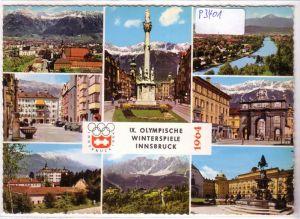 AK Österreich Olympiastadt Innsbruck Tirol Olympia 1964 ungelaufen