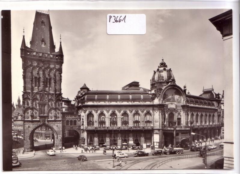 Praha Prag Obecni dum