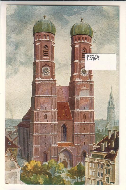 München Heinrich Kley Frauenkirche