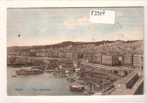 AK Algerien Alger Vue generale Totale am Hafen 1925 gelaufen