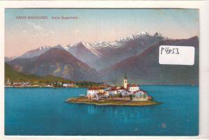 AK Italien Lago Maggiore Lago-Maggiore Isola Superiore ungelaufen