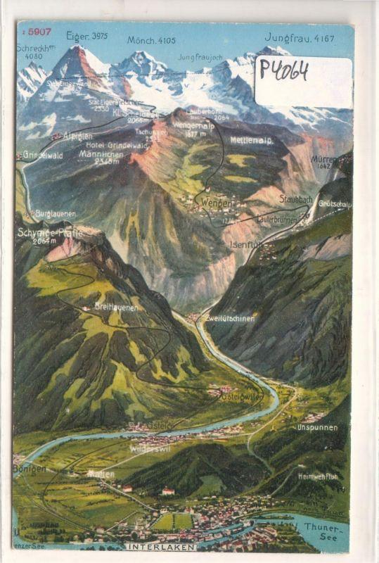 Interlaken Thuner See Lauberhorn