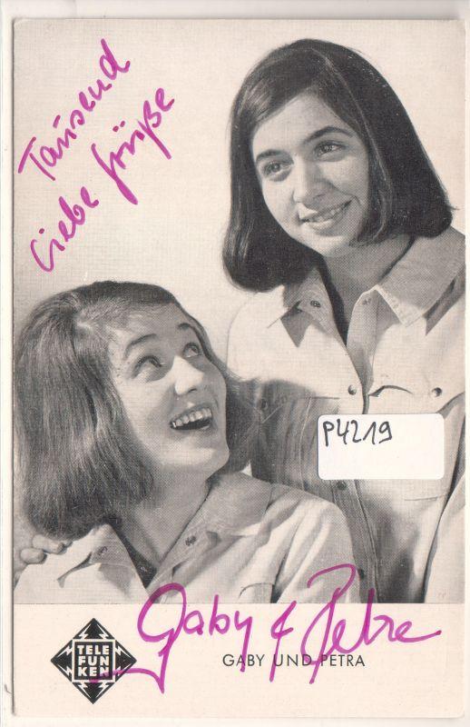 Gaby und Petra
