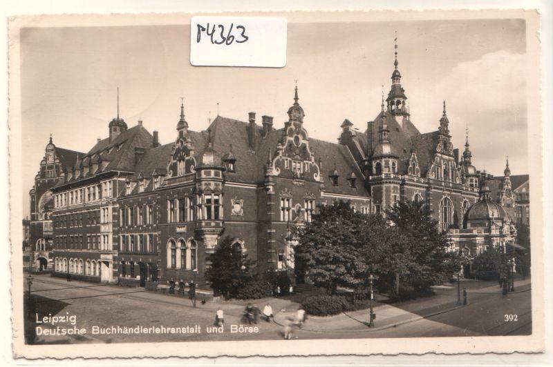 Leipzig Deutsche Buchhändlerlehranstalt und Börse