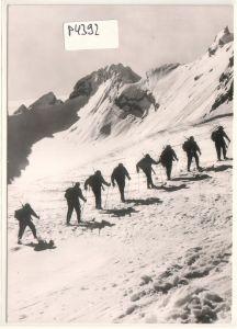 AK Hochgebirgsjäger der 1. Gebirgs-Division Bundeswehr Gebirgsjäger 1960 datiert ungelaufen