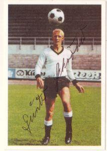 Bergmann-Sammelbild Günter Schröder signiert, Borussia Neunkirchen, Sammelbild Nr. 353 aus der Serie Fussball 1967/68, Bergmann-Verlag
