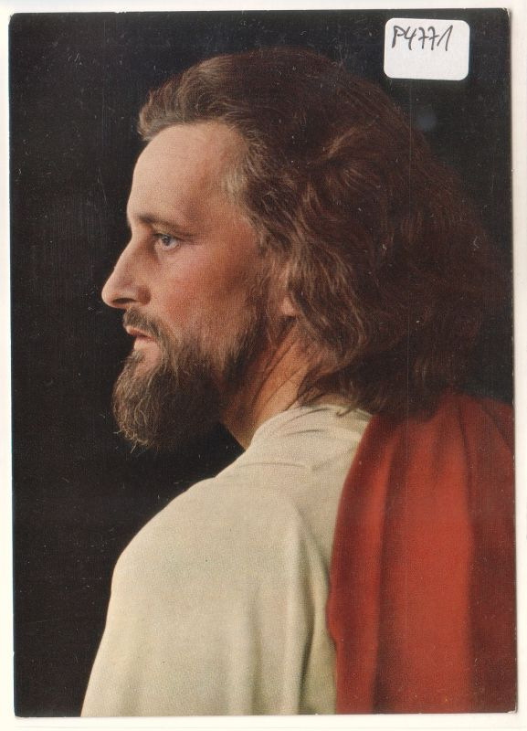 Passionsspiele Oberammergau 1960 Christus Darsteller: Preisinger Anton
