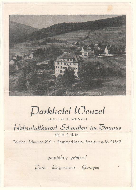 Parkhotel Wenzel Schmitten Taunus
