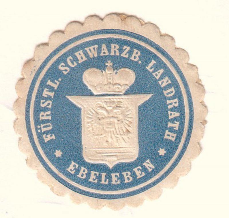 Fürstl. Schwarzb. Landrath Ebeleben