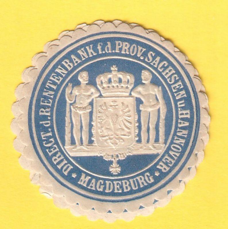 Direct. d. Rentenbank f. d. Prov. Sachsen u. Hannover Magdeburg