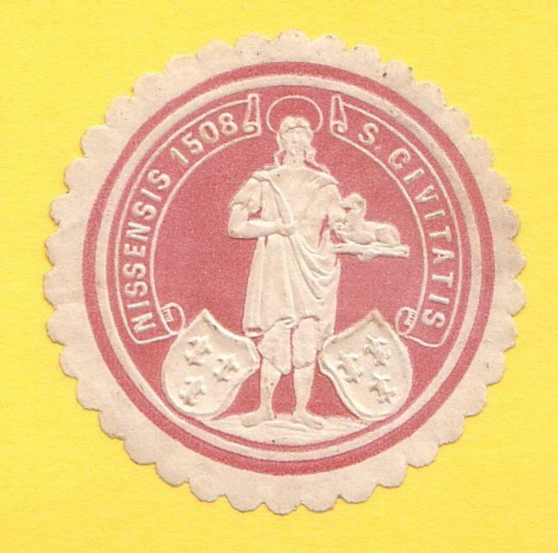 Nissensis 1508 S. Civitatis Neiße Schlesien