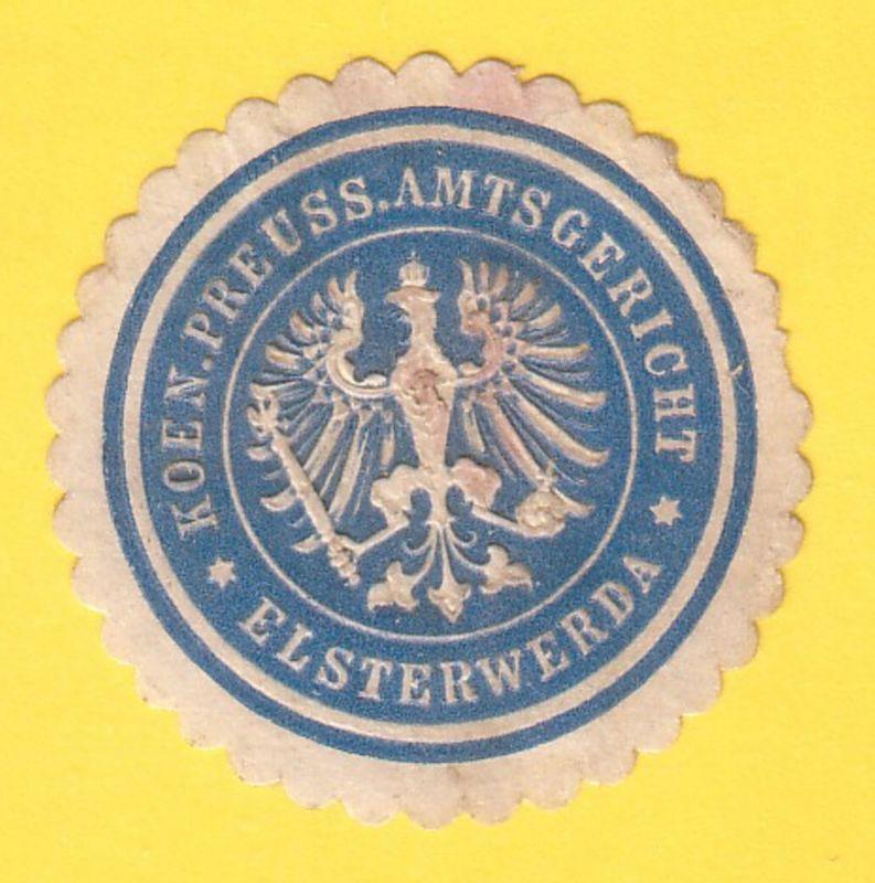 Koen. Preuss. Amtsgericht Elsterwerda