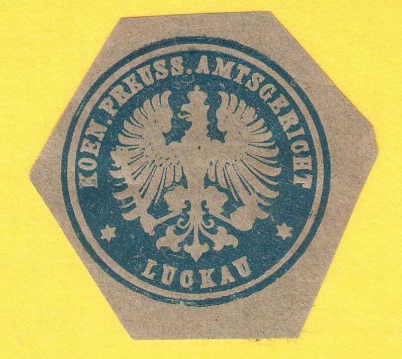 Koen. Preuss. Amtsgericht Luckau