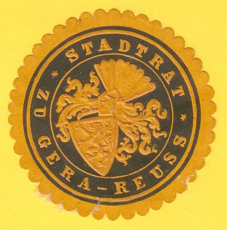 Stadtrat zu Gera-Reuss
