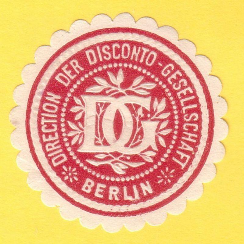 Direction der Disconto-Gesellschaft Berlin