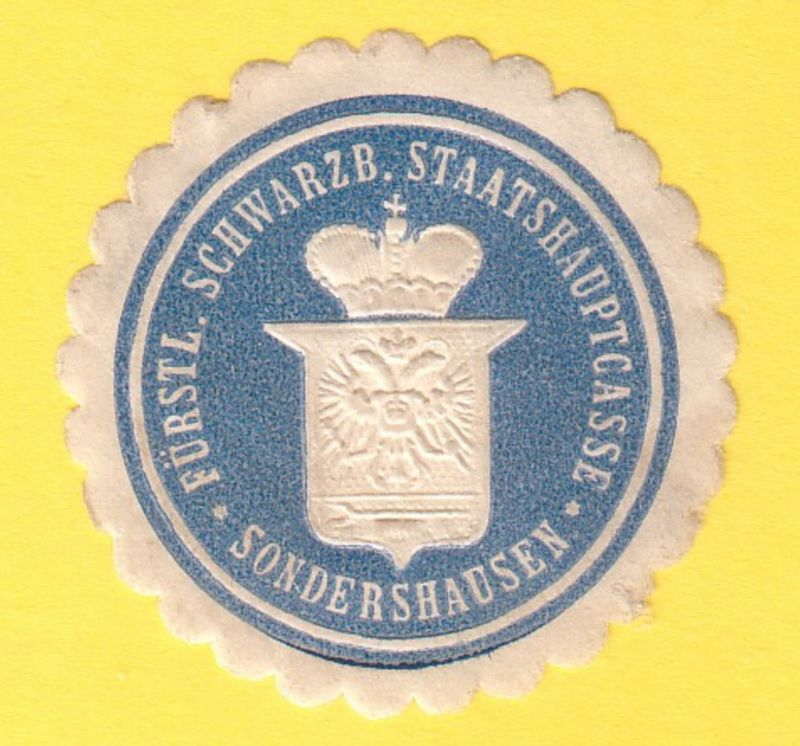 Fürstl. Schwarzb. Staatshauptcasse Sondershausen