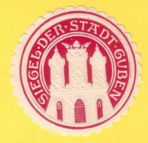 Siegelmarke Siegel der Stadt Guben
