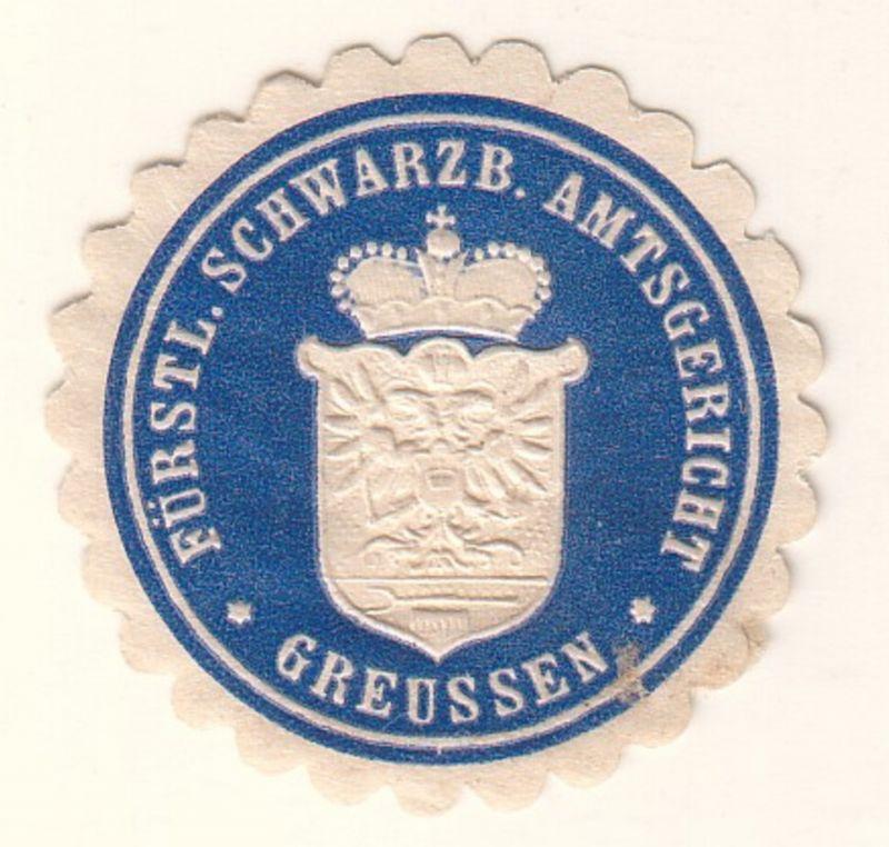 Fürstl. Schwarzb. Amtsgericht Greussen
