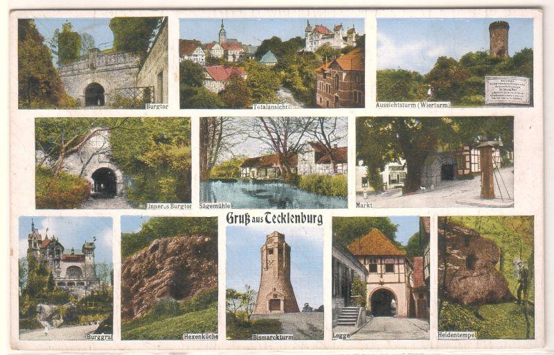 Gruß aus Tecklenburg Mehrbildkarte