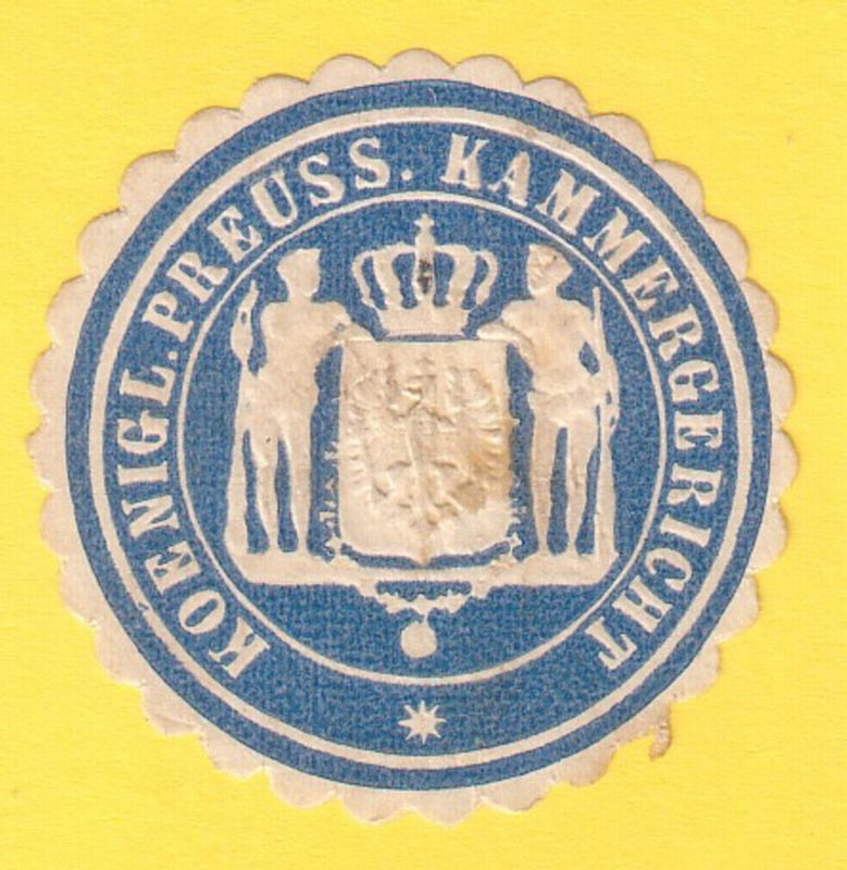 Koenigl. Preuss. Kammergericht