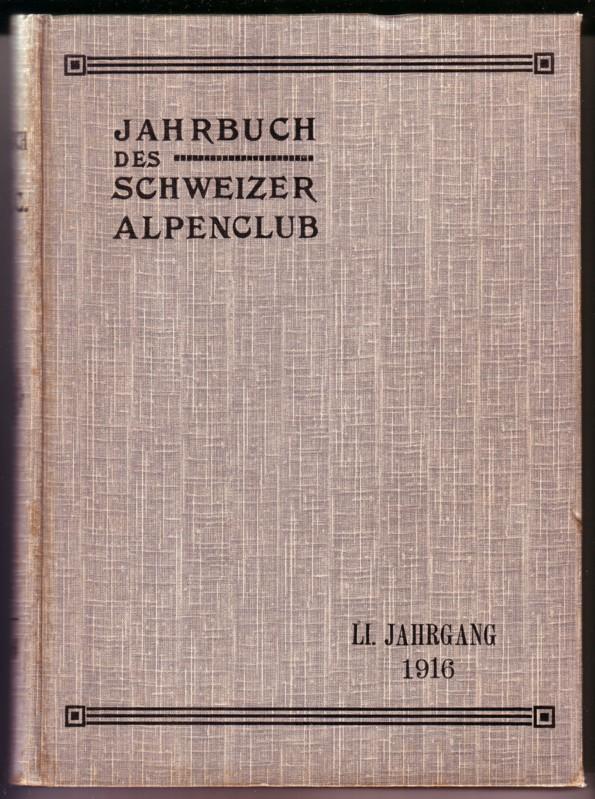 Jahrbuch Schweizer Alpenclub