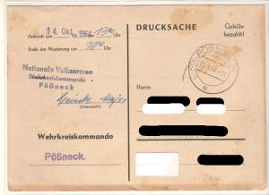 Musterung NVA DDR