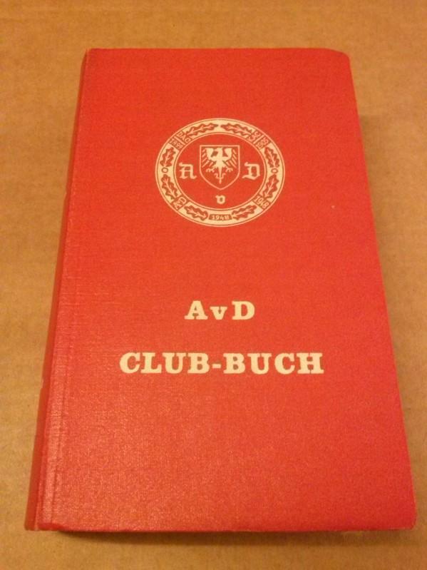 AvD Club-Buch 1963 - Lesebändchen mit Continental-Werbung AvD (Hrsg.)