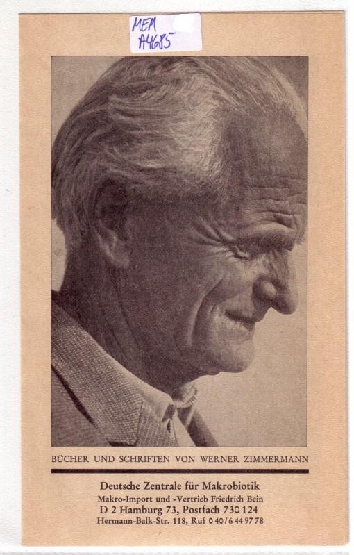 Makrobiotik Werner Zimmernmann