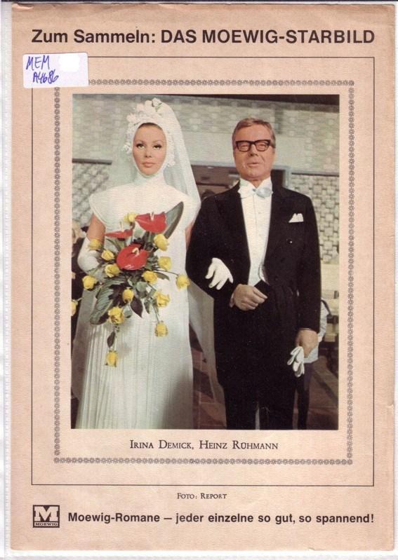 Heinz Rühmann Irina Demick Moewig Starbild