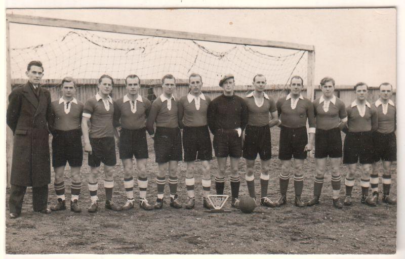 AK Herne-Baukau Sport Fußballmannschaft Pokal 1952