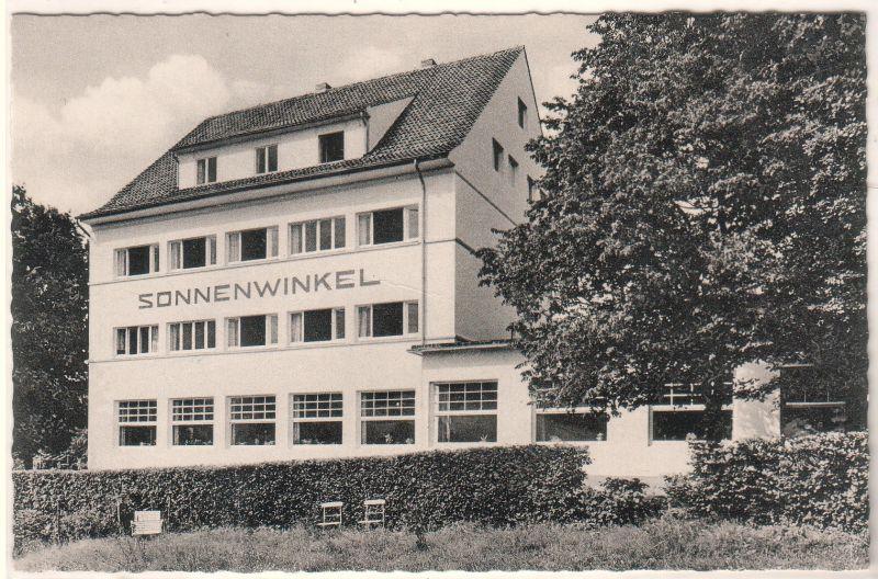 AK Bad Essen Wiehengebirge Evgl. Müttergenesungsheim Sonnenwinkel