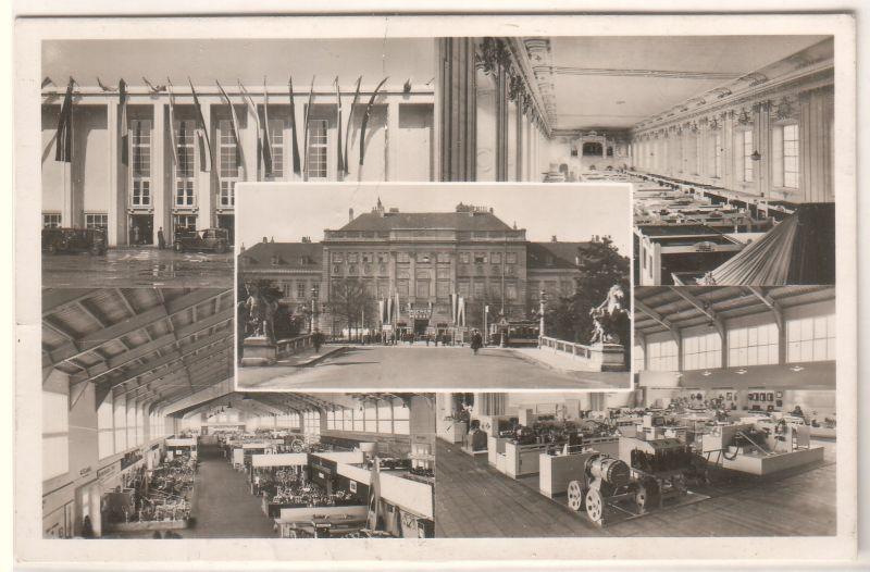 AK Österreich Wien Internationale Messe 1947 Stempel